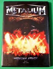 Metalium Metalian Attack Live Pt. 1 DVD 2002 Includes Audio CD RARE Savatage