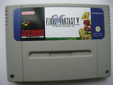 Final Fantasy V 5 for Super Nintendo SNES PAL English