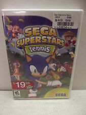 WII SEGA SUPERSTARS TENNIS NEW FACTORY SEALED