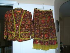 $450 Cynthia Steffe outfit Jacket and Skirt 8 M ann taylor j.crew