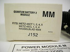 QUANTUM BATTERY 2 MODULE MM FOR METZ & HASSELBLAD