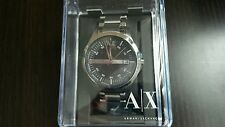 Perfect Armani AX Exchange Whitman Black Dial Stainless Steel Mens Watch AX2103