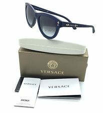 VERSACE 4291 5138/8G 53-22 140 3N Sunglasses-Italy- Dark Blue -NEW#u18