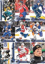 U PICK 4 CARD LOT 16-17 2016-17 Upper Deck UD Series 1 & 2 Base Set #1-450