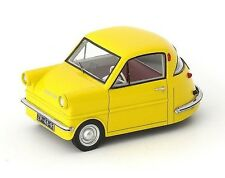 Autocult 1:43 1958 Shelter Netherlands, Yellow Micro Car