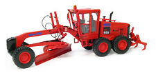 First Gear Komatsu GD655 Motor Grader w/Ripper Forestry Division Red 1:50 Scale