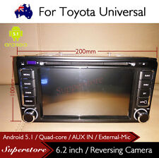 Android 5.1 Quad Core Car DVD GPS For Toyota ECHO Landcruiser PRADO RAV4  HILUX