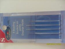 Prym Dritz Sewing BEADING NEEDLES Pack of 4 Needles SIZES 10/13 (2003) 2 package