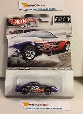 Ford Mustang Cobra * Purple * Hot Wheels Racing Muscle * N74
