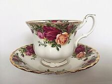 Royal Albert Old Country Roses English Bone China Teacup and Saucer 3 Available