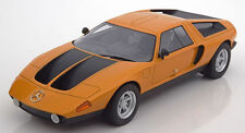 Bos 1970 Mercedes Benz C111/II Concept Car Orange Metallic 1:18 LE of 1000 *New!