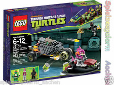 LEGO 79102 TURTLES Verfolgungsjagd Stealth Shell in Pursuit La poursuite en Cara