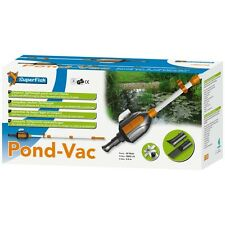 Superfish Pond Vac Pond Vacume Cleaner Vac Hoover Koi Fish Water Silt Remover