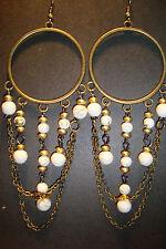 Large Long Indian~Asian Ethnic Boho Chandelier Earrings~ER159~uk seller~