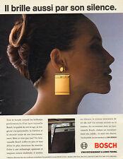 Publicité Advertising 1994  Lave vaisselle BOSCH