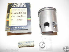 piston YAMAHA RD250 + RD250 4L1 - 54,75 Ø with L-Ring ASSO - piston - pistone