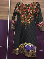 Sana Safinaz Embroidered Stitched Shawl Suit Small