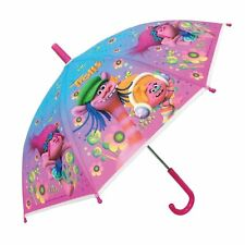 TROLLS Umbrella Official Dreamworks Licensed Kids Childrens Umbrella Girls