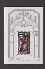 WEST GERMANY MNH MINT STAMP DEUTSCHE BUNDESPOST 1977 CHRISTMAS SHEET  SG MS1845