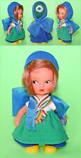 Vintage Small ARI Rubber Doll - DDR - Germany 1970's