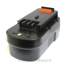 NEW 18V 2000mAh 2.0AH NiCd Slide Battery for Black & Decker A18 A1718 Power Tool