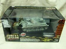 Forces of Valor German Panzer IV Ausf. F Enthusiast Ed #80000 1:32 NIB