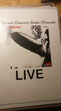 Dream Concert Series Presents: Led Zeppelin's Led Zeppelin 1 LIVE on DVD !! rare