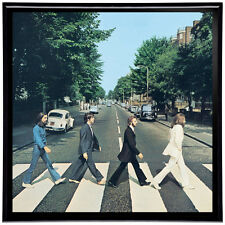 "The Beatles Abbey Road Framed 12"" LP Album Cover Artwork includes Vinyl Record"