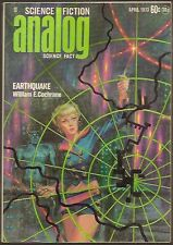 ANALOG April 1973 TOM PURDOM, GEORGE SCITHERS, POUL ANDERSON, KELLY FREAS