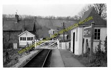 Cove Railway Station Photo. Bolham - Bampton. Tiverton to Dulverton Line. (1)