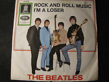 THE BEATLES - rock and roll music / I´m a loser  SINGLE 7""