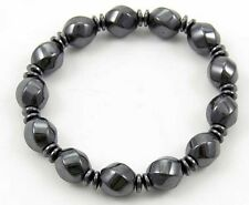 **BEAUTIFUL MAGNETIC HEMATITE BEAD BRACELET - HEALING / REIKI**