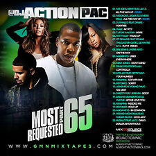 DJ ACTION PAC - MOST REQUESTED 65 (MIX CD) FAT JOE, REMY, JAY-Z, DRAKE, USHER...