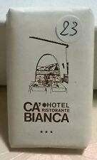SAPONETTA HOTEL RISTORANTE CA'BIANCA 3 STELLE  PARATICO (BS) - RETTANGOLARE N.23