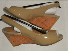 Gerry Weber Adelina 05 Open Toe Patent Leather (3 inch)Wedge  EUR SZ 36 (US 5)