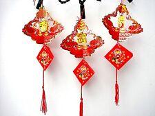 6 color rojo chino Carpas Koi encanto Linterna de Papel Fiesta Boda Cumpleaños Niños