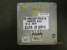 1993   MAZDA MX6 & 626   A/T  V-6  ECU  # KL03 18 881C