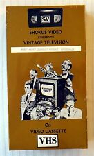 Shokus Video #857 - Lost Comedy Great Specials ~ New VHS ~ Vintage Television