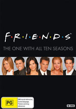 Friends TV Series Complete Seasons 1-10 New DVD Boxset Oz Edition Region 4