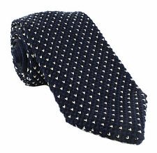 Michelsons UK - Crows Foot Silk Knitted Tie