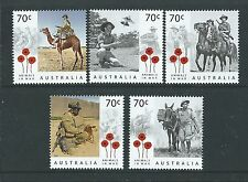 AUSTRALIA 2015  ANIMALS IN WAR - A CENTURY OF SERVICE,  UNMOUNTED MINT