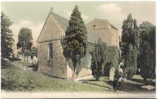 LOVELY RARE OLD POSTCARD - STUDLAND CHURCH - DORSET - C.1912
