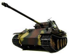 RC Schuss Panzer/Panther BB 2.4 GHz Metallgetriebe Rauch/Sound Airbrush Tarnlack
