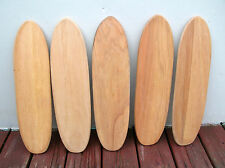 Vintage hobie super surfer wooden sidewalk skateboard surfboard decks 1960s NOS