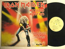 "IRON MAIDEN ""MAIDEN JAPAN"" - 12"" MAXI SINGLE - FRANCE PRESSING - 4 SONGS"