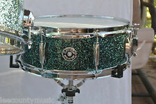 "NEW GRETSCH 14"" CATALINA CLUB OCEAN TWILIGHT SNARE DRUM for YOUR DRUM SET! #T257"