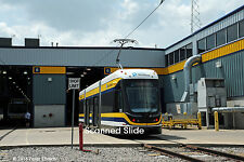 Original Photograph: Dallas Streetcar 302 at DART Central Shops (5 x 7)
