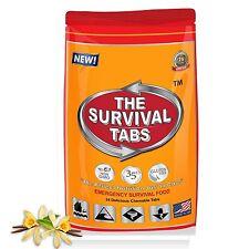 Survival Tabs Vanilla - Protein Nutrition Fiber Low Carb (24 Tabs)