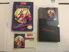 Disney's Darkwing Duck Nintendo Entertainment System 1992 NES Complete CIB Rare