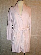 Barefoot Dreams Short Robe Pink Bamboo Chic Lite 1